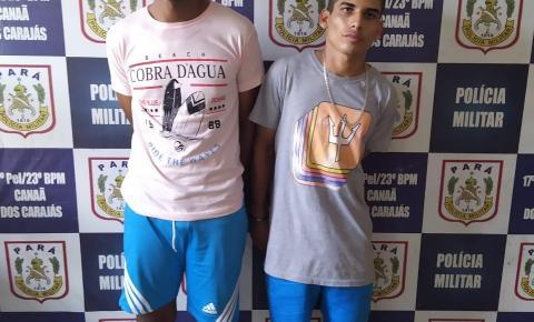 Polícia Militar captura assaltantes fugitivos em Canaã dos Carajás