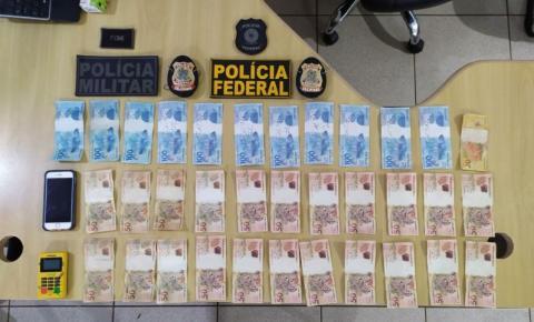 Foragido é preso após aplicar golpe com uso de dinheiro falso em Marabá, no Pará.