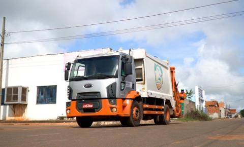 Confira o cronograma de coleta de lixo em Canaã dos Carajás