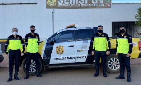 Canaã dos Carajás: agentes de educação no trânsito recebem novos uniformes