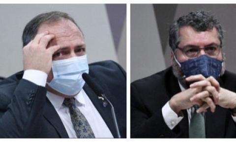 CPI da Covid aprova quebra de sigilo de Pazuello e Ernesto Araújo.