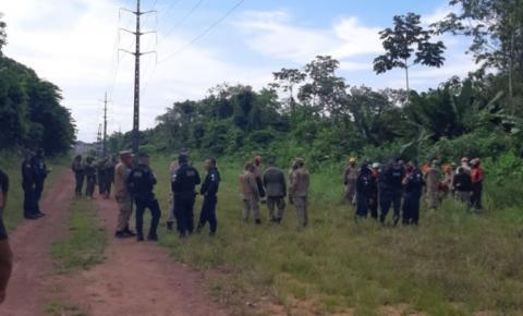 Sinal de celular fez polícia achar cemitério clandestino.