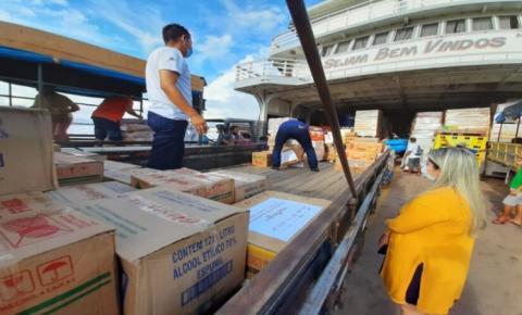 Pará recebe doações de equipamentos contra covid-19