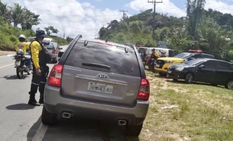 Carro e apreendido e motorista é detido em fiscalização da Operação Verão em Bragança