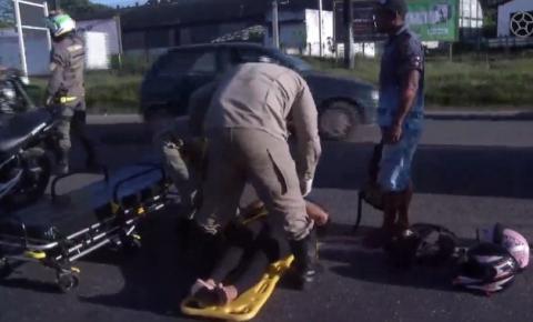 Acidente grave na saída de Belém complica trânsito na BR-316