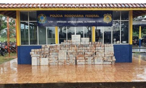 Uma tonelada de cocaína é apreendida em caminhão no Pará