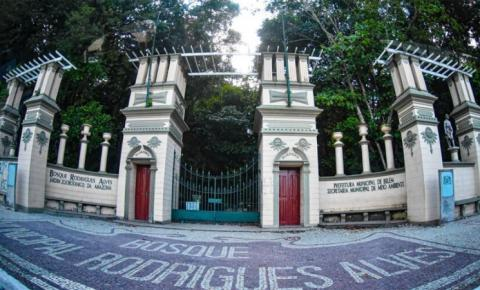 Bosque Rodrigues Alves comemora 138 anos