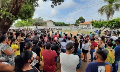 Manifestação pede justiça pela morte de prefeito em Tucuruí