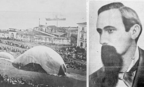 A azarada vida de Julio Cezar, o paraense que criou o balão