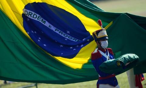 Dia da Independência tem cerimônia no Palácio da Alvorada, em Brasília