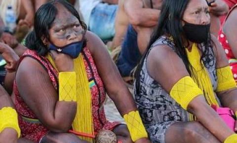 Marcha Nacional das Mulheres Indígenas começa em Brasília