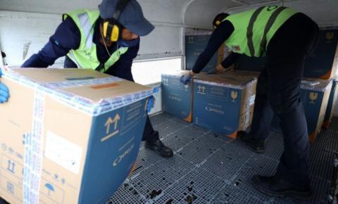 Pará recebe mais 127.200 mil doses de vacina