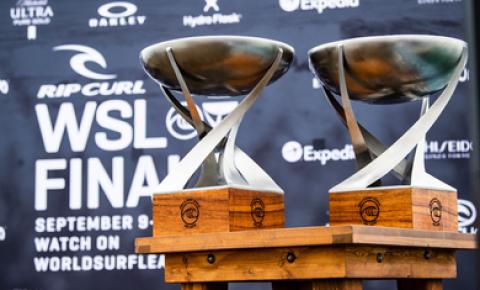 Surfe: falta de boas ondas adia início do WSL Finals