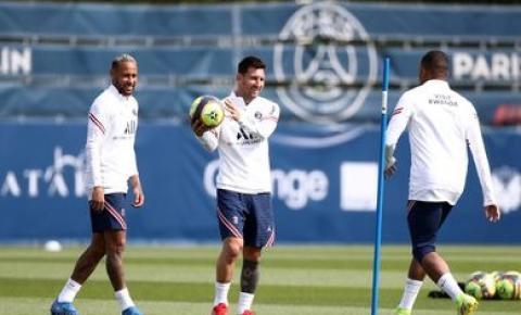 PSG relaciona Messi e Neymar para estreia na Liga dos Campeões