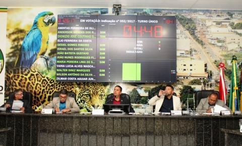 Com decretos, Projetos de Lei e indicações aprovadas, 33ª Sessão acontece em Canaã