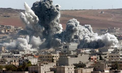 A guerra civil na Síria