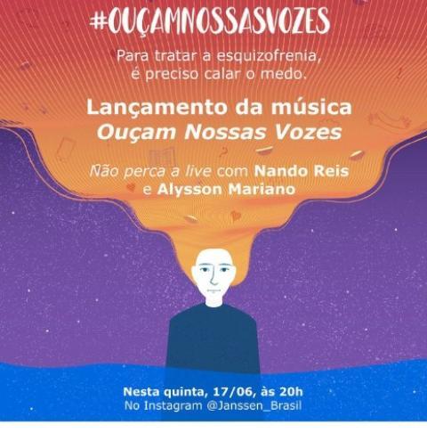 Esquizofrenia: música em apoio a portadores será lançada hoje